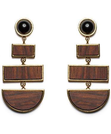 Lizzie Fortunato Totem Earrings