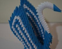 3d Origami Winged Swan