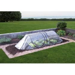 Photo of GardenGuard Frühbeettunnel (250 x 80 x 60 cm, Transparent, Pvc)