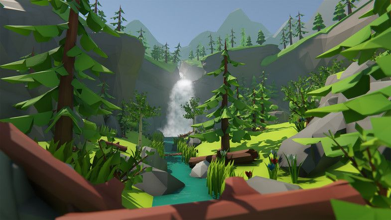 Lowpoly Style Ultra Pack #Ultra#Style#Lowpoly#Landscapes ...