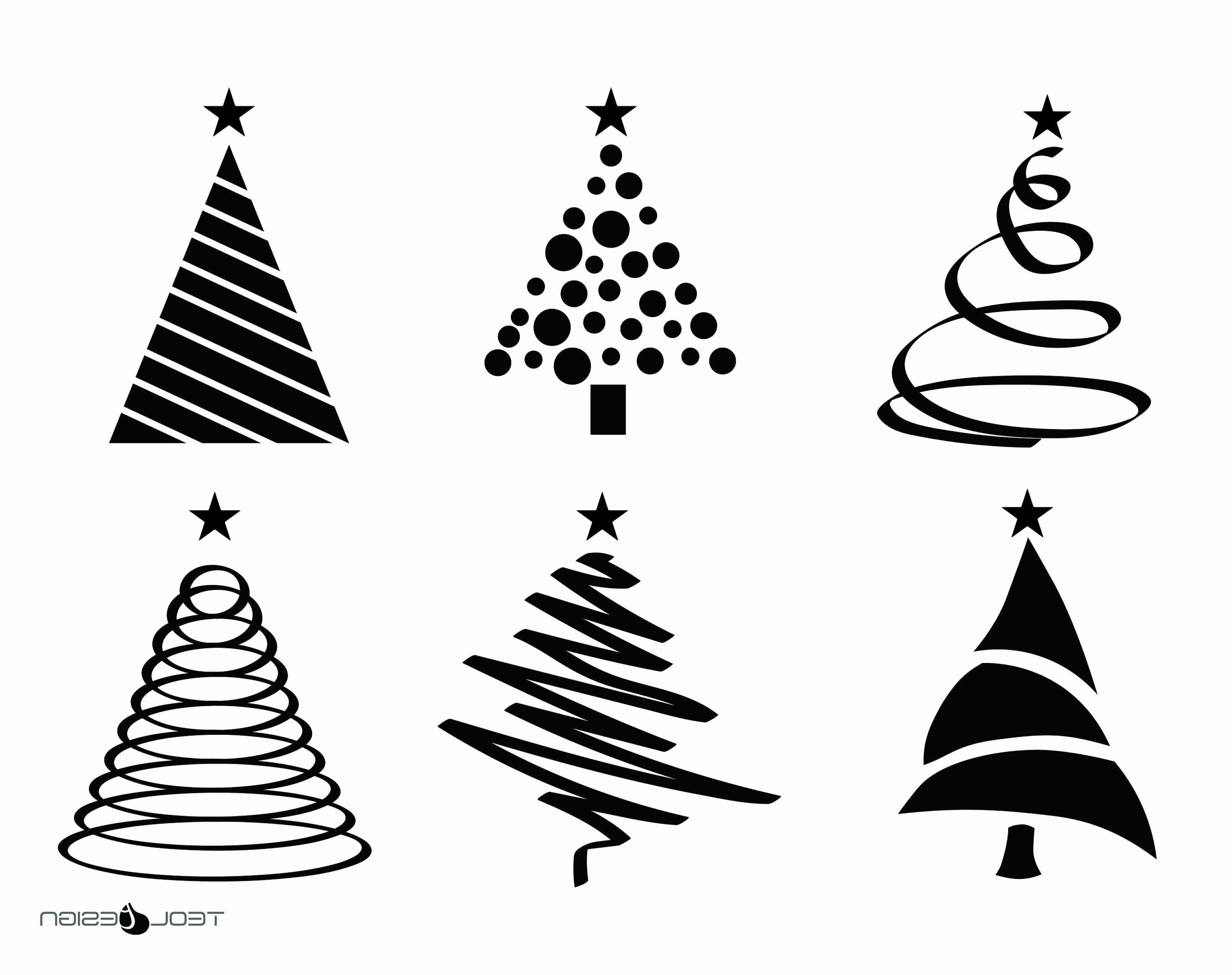 14 Unique Christmas Tree Vector Di 2020