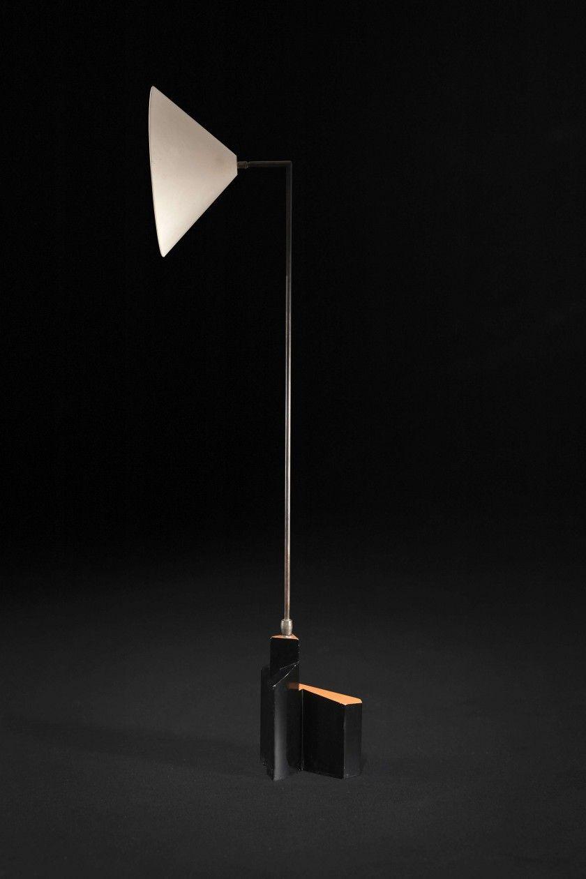 Floor lamp by Eileen Gray; circa 1922 1924 Unique piece
