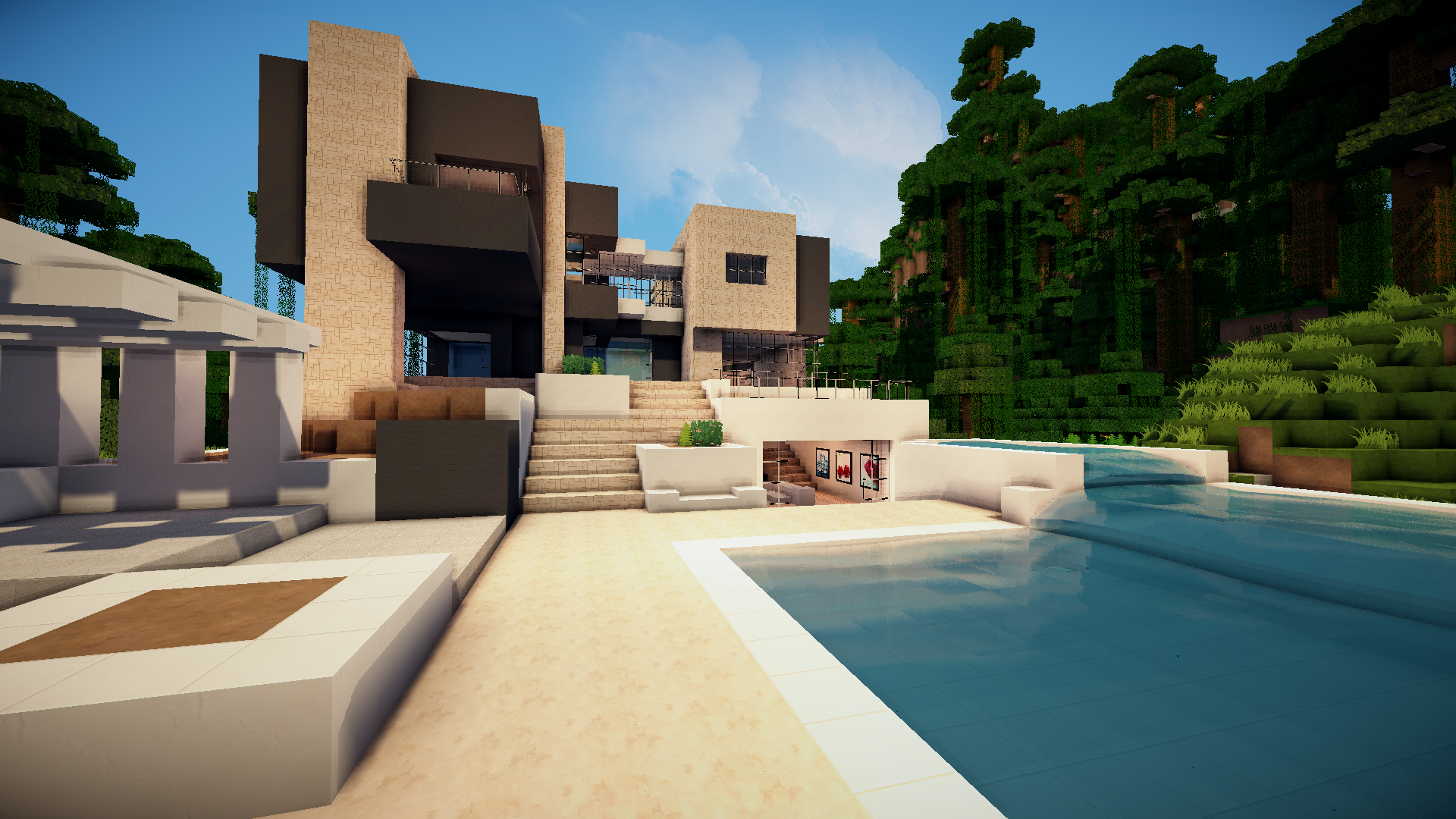 Minecraft modern house keralis google search