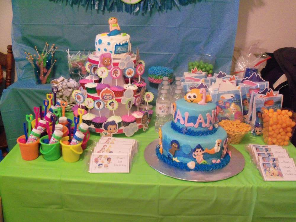 bubble guppies birthday party | Bubble Guppies Birthday Party Ideas | Photo 1 of 35 | Catch My Party