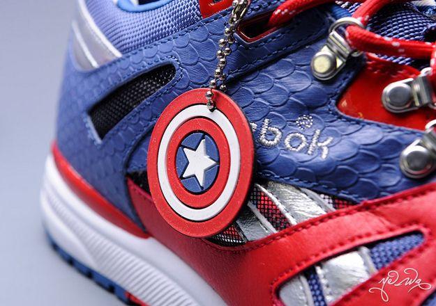 Reebok \u0026 Marvel Create Superhero