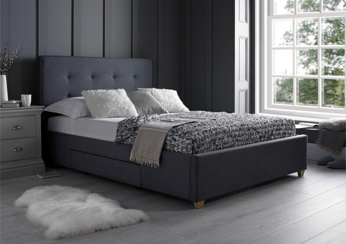 Milano Grey 2 Drawer - Storage Beds - Beds. Super King ... & Milano Grey 2 Drawer - Storage Beds - Beds   Drawers Grey drawers ...