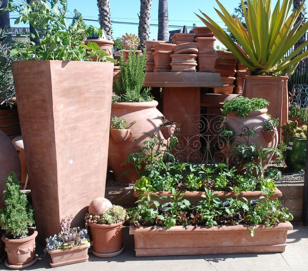 This Stunning Design From Arcadia Studio Truly Brings A Touch Of Italy To Your Garden Design Terracotta Planter Terra Cotta Pots Garden Garden Design