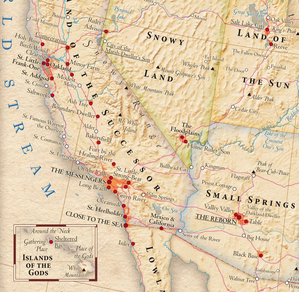 This Wonderful Map Shows What US States' Names Really Mean