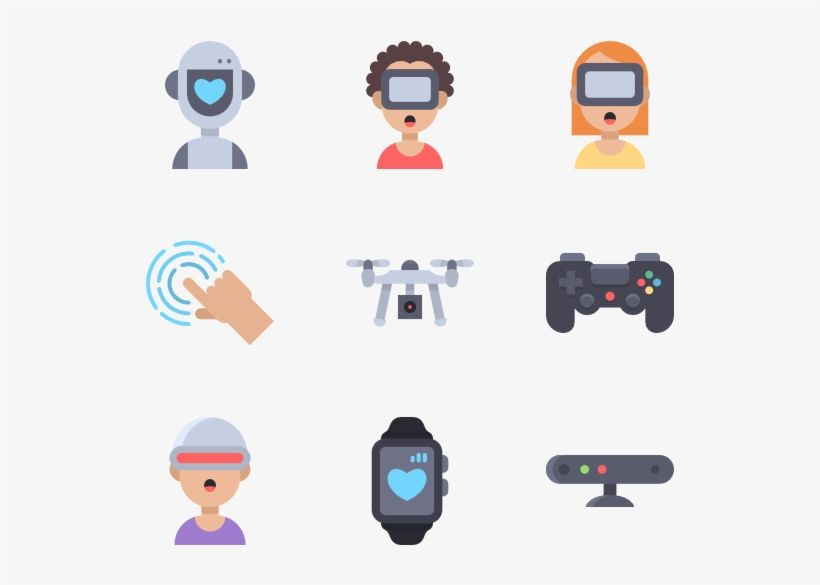 Technology Vector Futuristic Future Technology Icon Png Transparent Png Download Technology Icon Future Technology Png