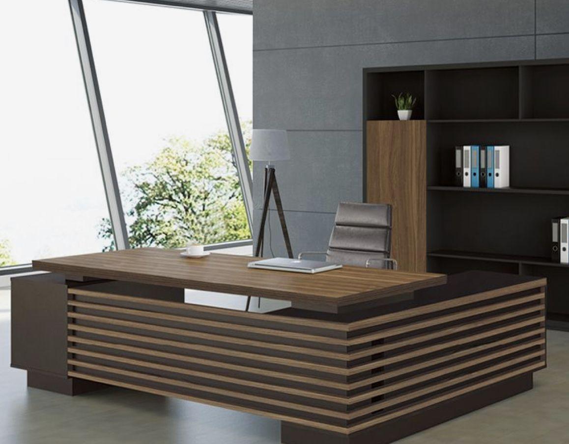 Pin By Karen Hauser On Doug S Office Office Table Design Office Furniture Design Office Furniture Modern