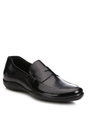 53308e63b2 PRADA Spazz Rois Penny Loafers. #prada #shoes #flats | Prada Men | Loafers,  Penny loafers, Loafers men