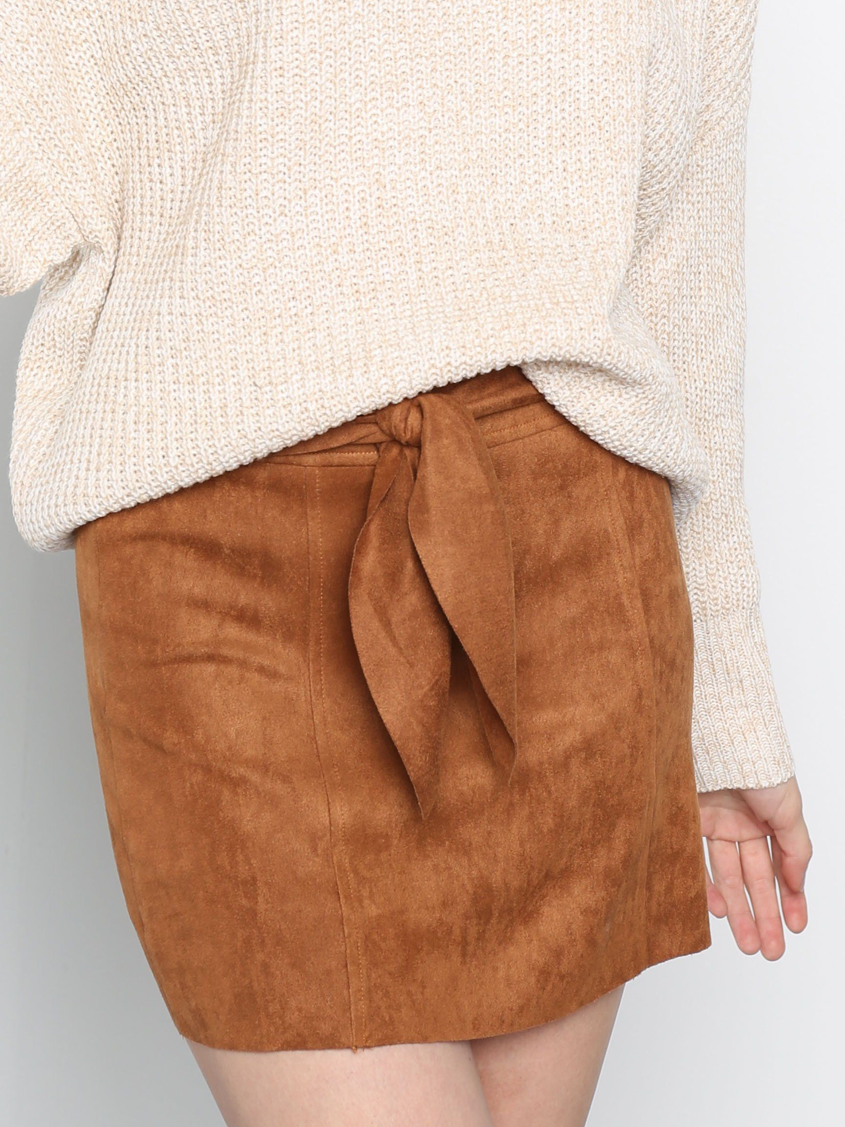 Lovely Suede Skirt