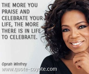 laws of life essay oprah winfrey Essays talk show and oprah winfrey  — here is a look at the life of oprah winfrey, host of the award-winning the oprah winfrey show  president clinton.