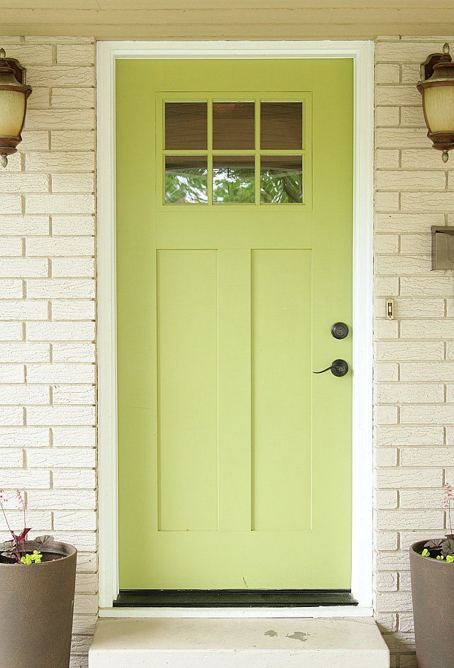 The Best Paint Colors For a Front Door Makeover | Spanish olives ...