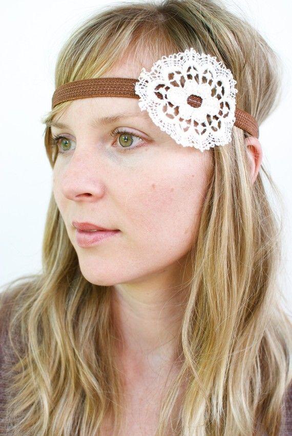 Doily headband!