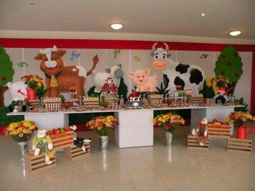 decoracion infantil animales dela granja