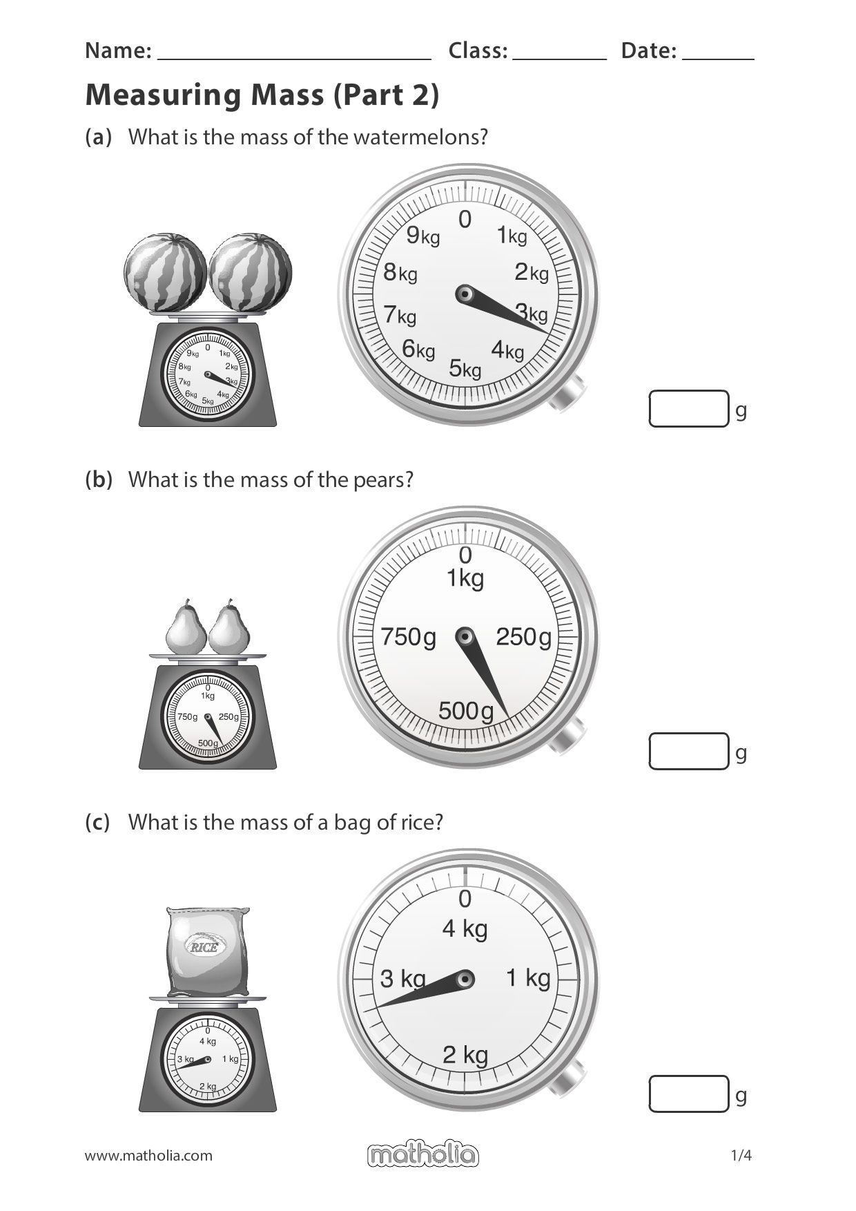hight resolution of Measuring Mass (Part 2)   Math addition games