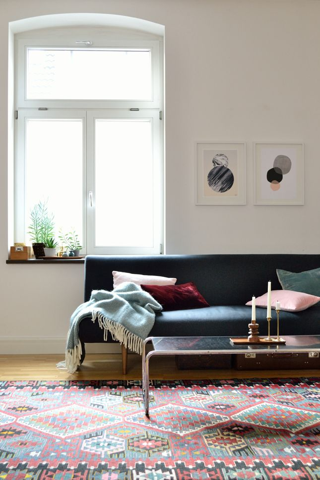 home tour, Studio Wunderkammer, interior styling, interior design - Wohnzimmer Design Grun