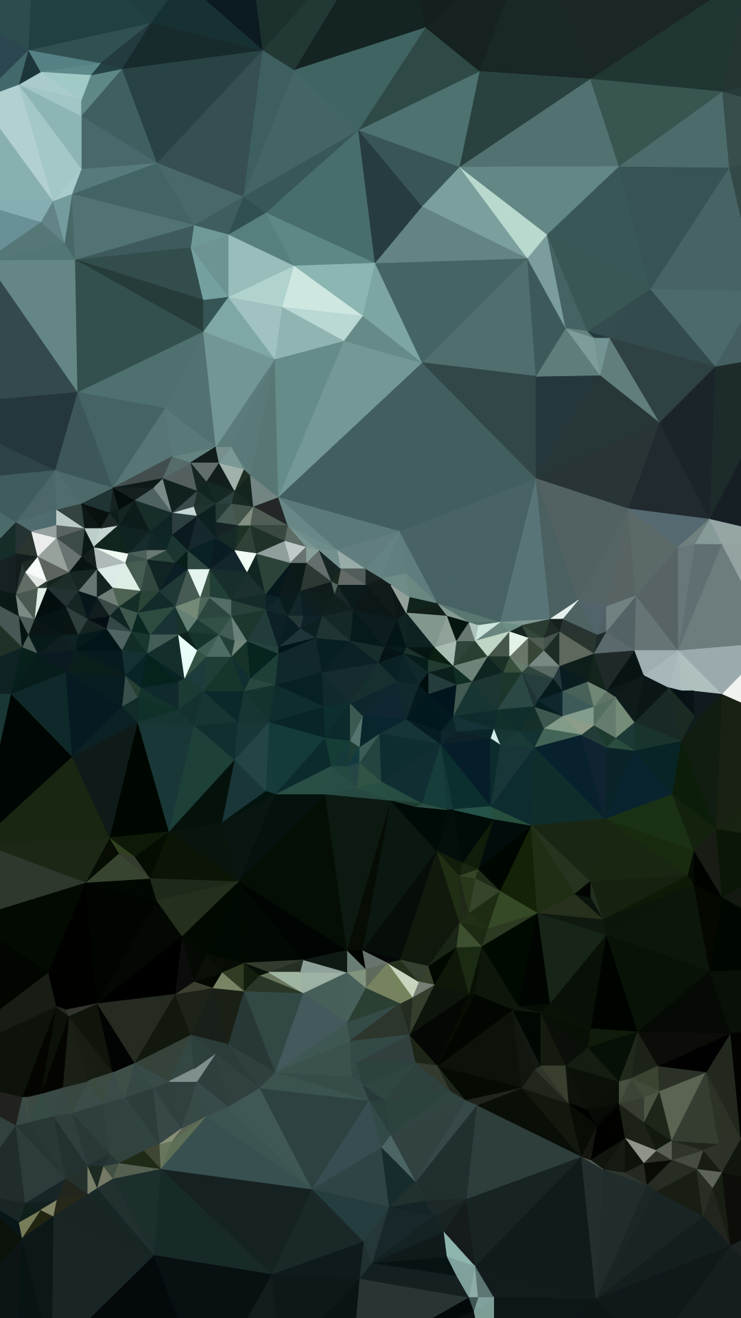 Tap Image For More Iphone 6 Wallpapers Landscape Road Polygon
