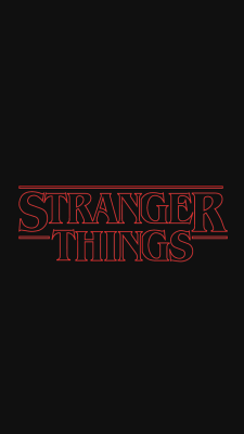 Stranger Things Wallpaper Tumblr A Stranger Things Logo Cast