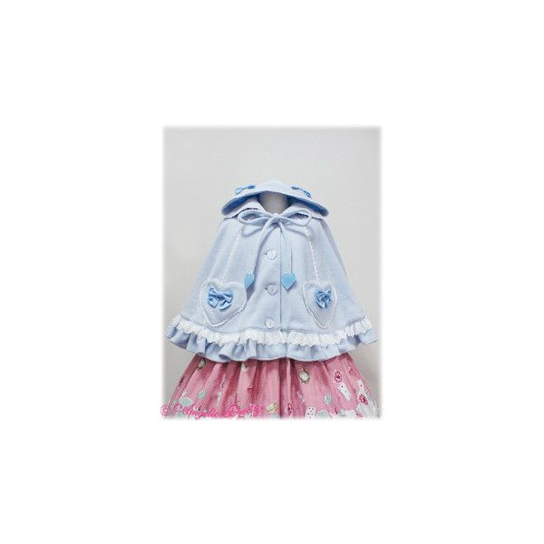 Lyrical Hood Cape ❤ liked on Polyvore featuring angelic pretty