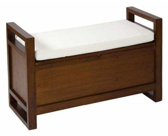 BANCO BAÚL COLONIAL CON CAJÓN   Muebles - Furniture - Möbler ...