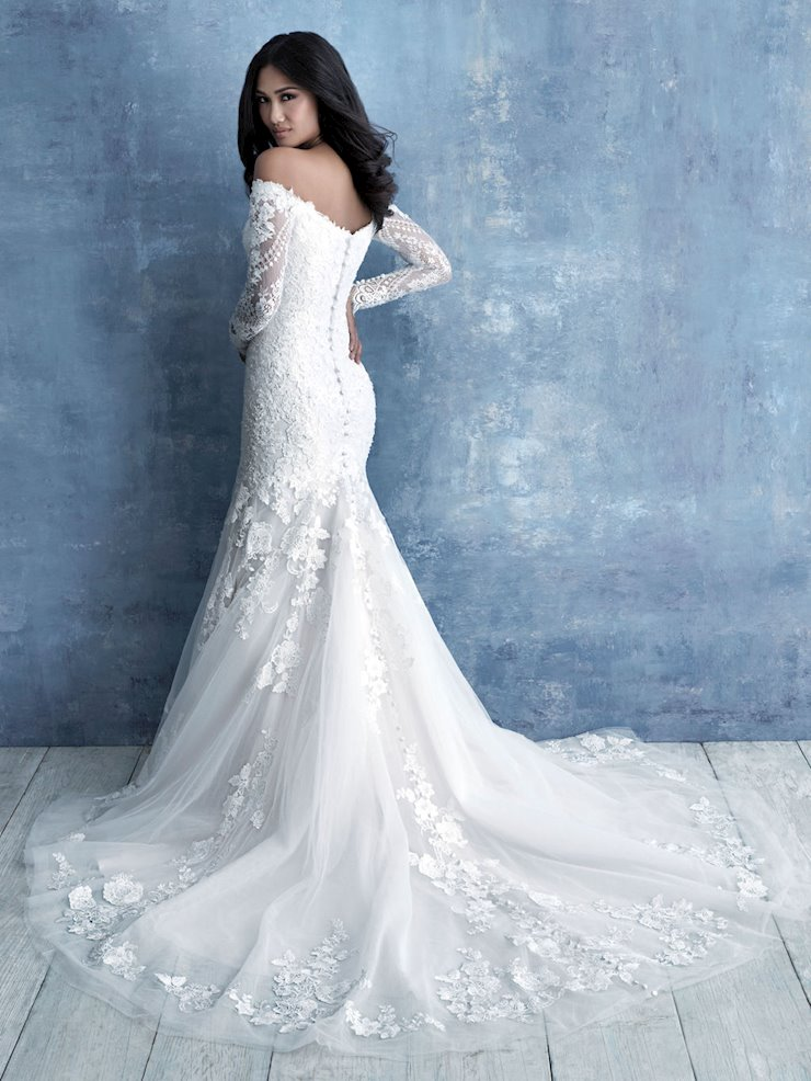 Allure - 9706 | Mariella Creations | Fit and flare wedding