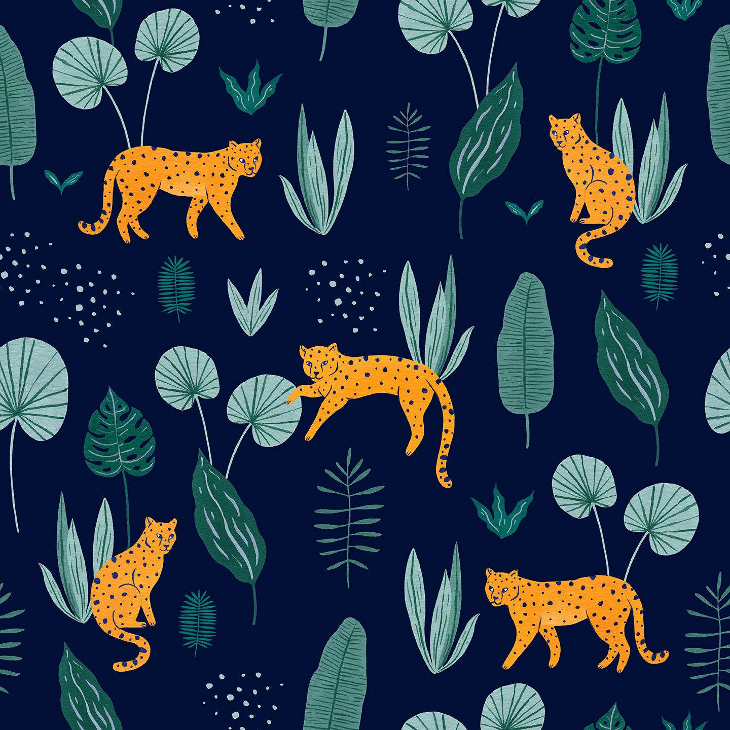 Jungle Pattern On Behance With Images