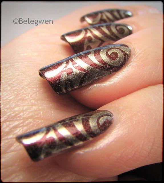 Nail Art by Belegwen: Ritarilliset kynnet