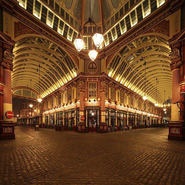 Leadenhall Market in London England