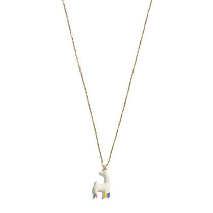 bc5c15f49d24b3 Rebeca Raney X Madewell Llama Necklace | sparkle. | Jewelry, Ring ...