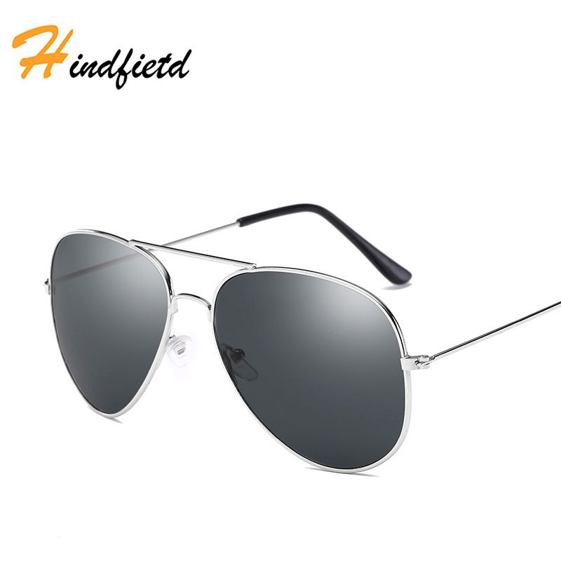 38cc3866d4a Hindfield Fashion Brand Designer Luxury Polarized Men Women Mirror  Sunglasses UV400 Classic Vintage Retro Metal Sun Glasses
