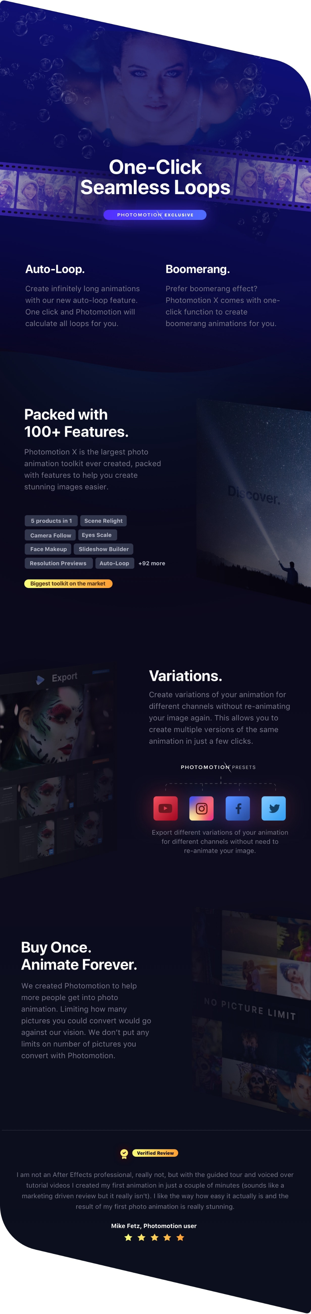 Photomotion 3d Photo Animation Toolkit 5 In 1 In 2020 3d Photo Photo Videohive