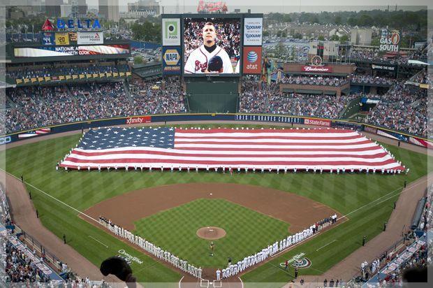 Screw The National Anthem Braves Atlanta Braves National Anthem