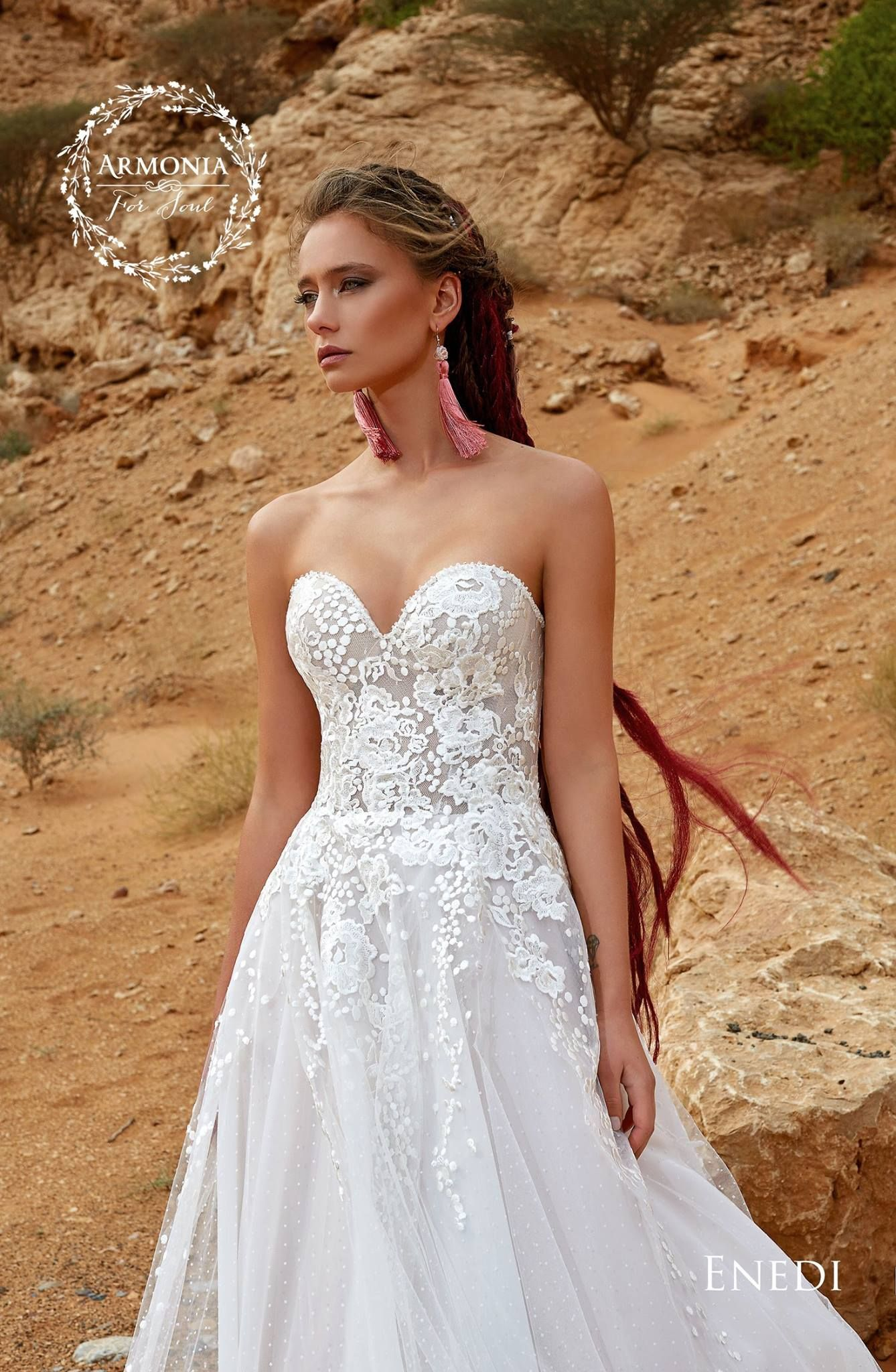 ENEDI Wedding Dress By ARMONIA Couture In Charme Gaby Bridal Gown Boutique Clearwater FL