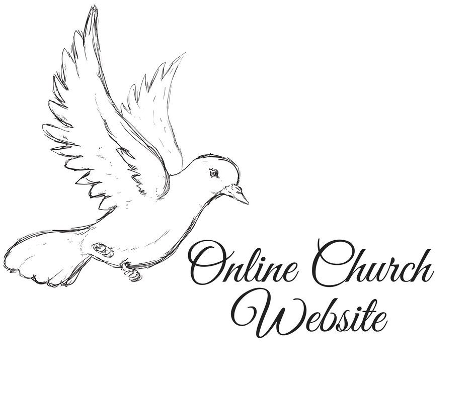 ONLINE CHURCH WEBSITE Design - 5 Page Website - Online