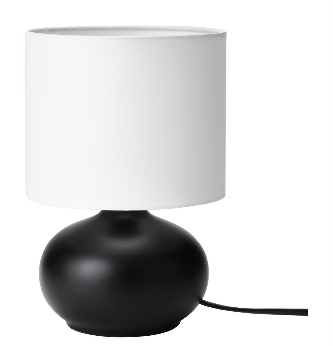Tvarfot Table Lamp Black White Ikea Table Lamp Lamp Black Table Lamps