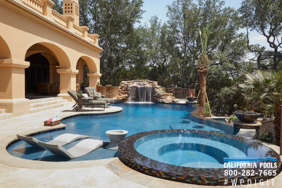 Ventura california freeform pools california pools for Pool design ventura