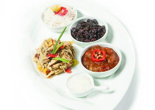 Pollo con curry y en leche de coco - Recetas http://www.estampas.com/cocina-y-sabor/recetas/140803/pollo-con-curry-y-en-leche-de-coco
