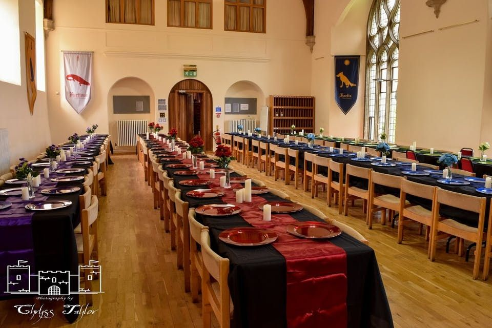 Image Result For How To Decorate A Large Room For A Harry Potter Dinner Party Harry Potter Teachers Dinner Party Decor