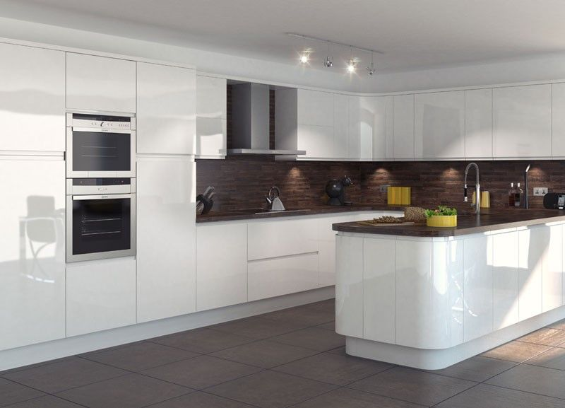 Kitchens should be carefully designed in order to enjoy for Black gloss kitchen ideas
