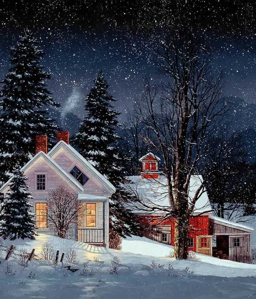 Fred Swan Art in 2019 Swan painting, Winter art, Christmas paintings
