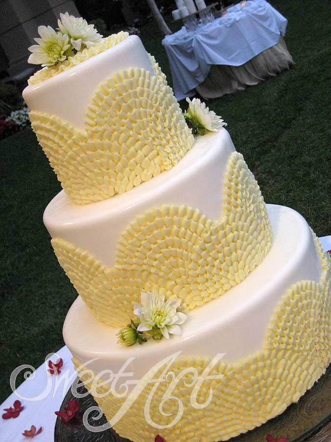 Wedding Cakes: made from scratch with the finest ingredients ‹ Sweet ...