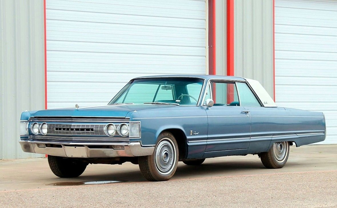 1967 Chrysler Imperial Crown Coupe Jim Chester S Garage Prova275 On Instagram Chrysler Imperial Chrysler Imperial