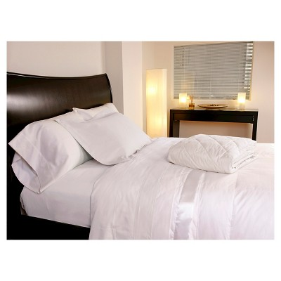 Temperature Regulating Blanket Twin White Outlast Sheet Sets