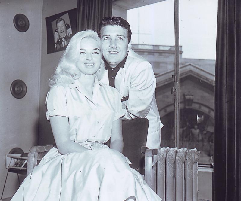 richard dawson and wife diana dors famous weddings