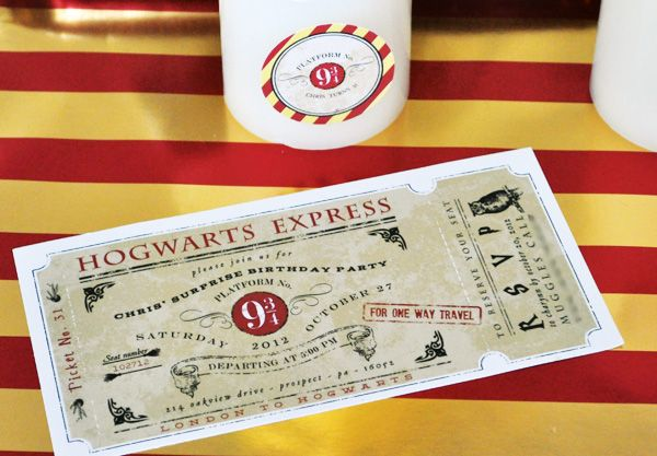 A Magical Harry Potter Birthday Party // Hostess with the Mostess®