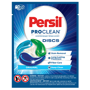 Possible Free Persil Proclean Discs Laundry Detergent Sample In