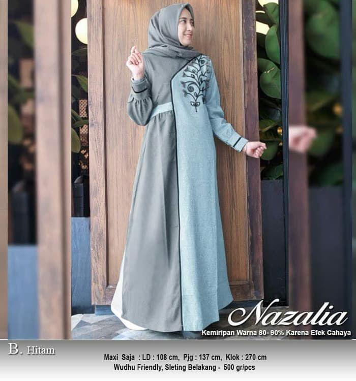 Baju Muslim Remaja Terbaru 2019 Model Pakaian Muslim Wanita Model Pakaian