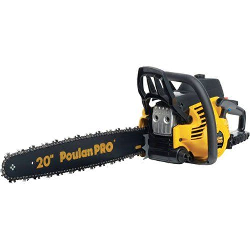 Power Chain Saws Poulan Pro Pp5020av 20inch 50cc 2 Stroke Gas Powered Chain Saw With Carrying Case Read More At Gas Chainsaw Chainsaw 50cc